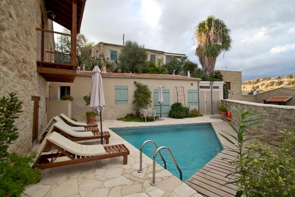 Eveleos Country House Tochni Zypern Landhaus Lodge