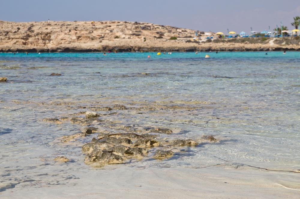 Zypern Strand Agia Napa Sandy Bay