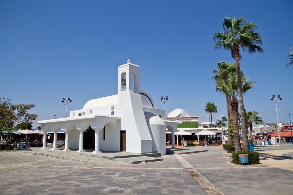 Zypern Agia Napa Kirche Agios Georgios