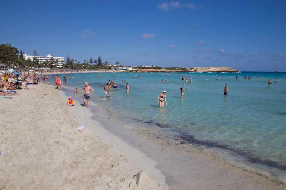Nissi Beach Strand Beach Zypern