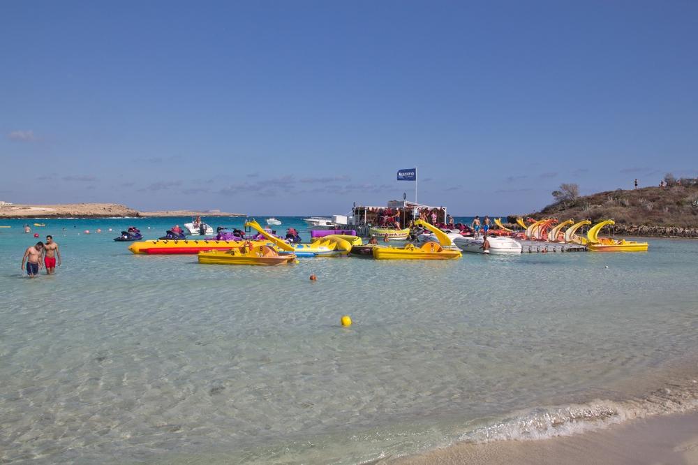 Zypern Strand Agia Napa Nissi Beach