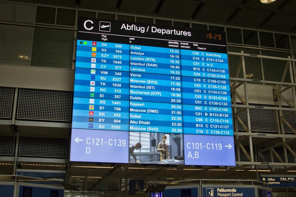 Flughafen München Reisebericht Zypern Frankfurt