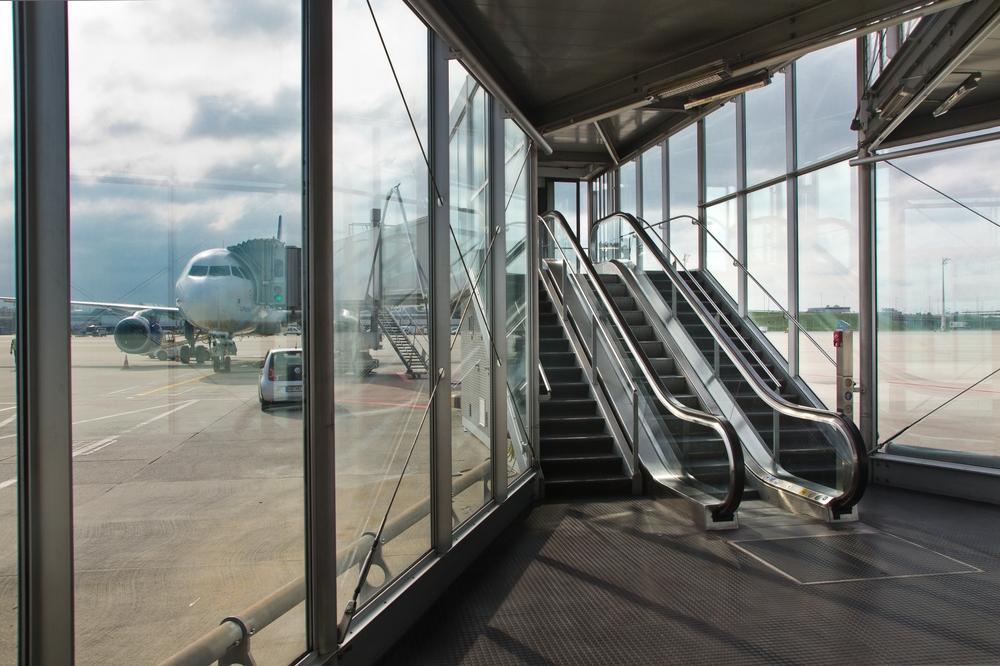 Extern Bus Gate Flughafen München