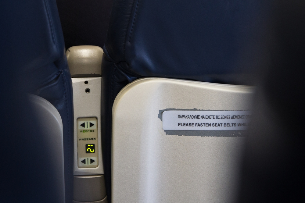 Kabine Flugzeug Cyprus Airways Frankfurt