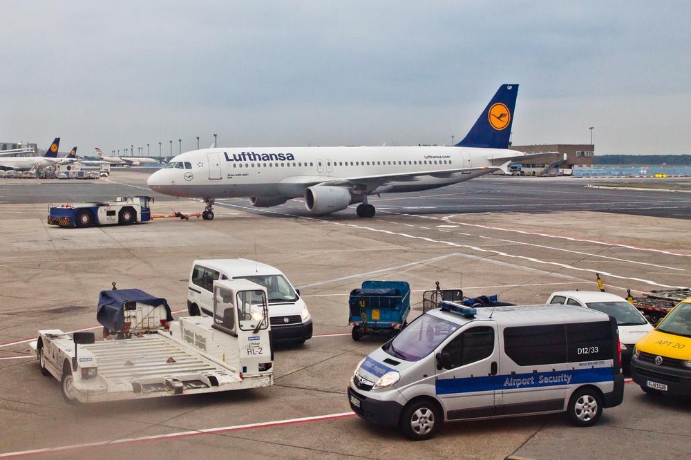Vorfeld Frankfurt Airport Flughafen