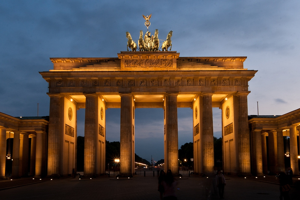 Brandenburger Tor - der ehemalige Ort der Fashion Week