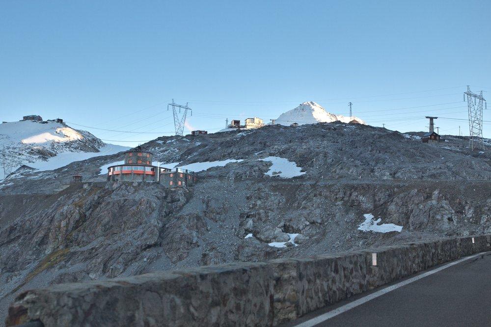 Stilfser Joch Pass Gipfel Berge