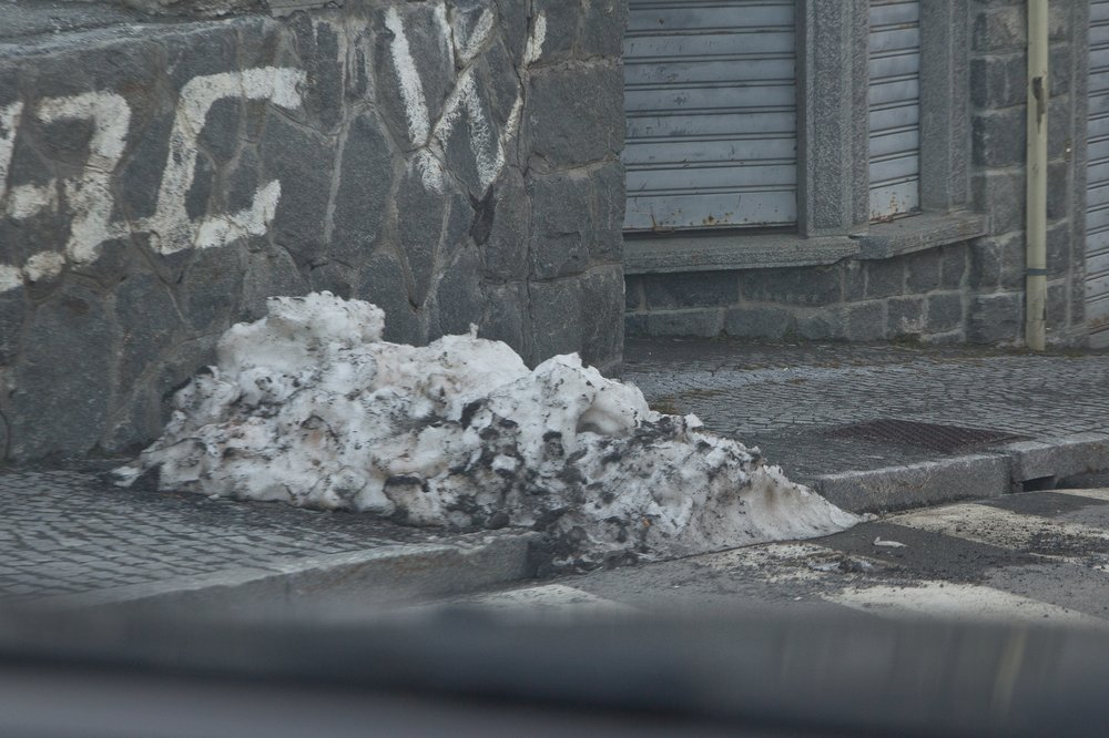 Stilfser Joch Schnee