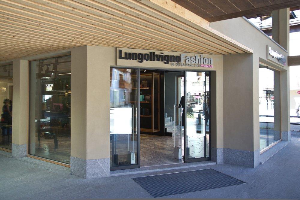 Livigno Lungolivigno Shopping taxfree