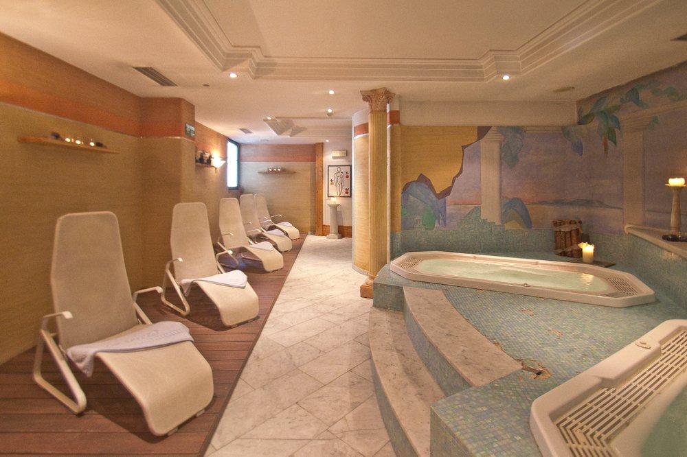 Wellness Bereich Spa Hotel Concordia Livigno