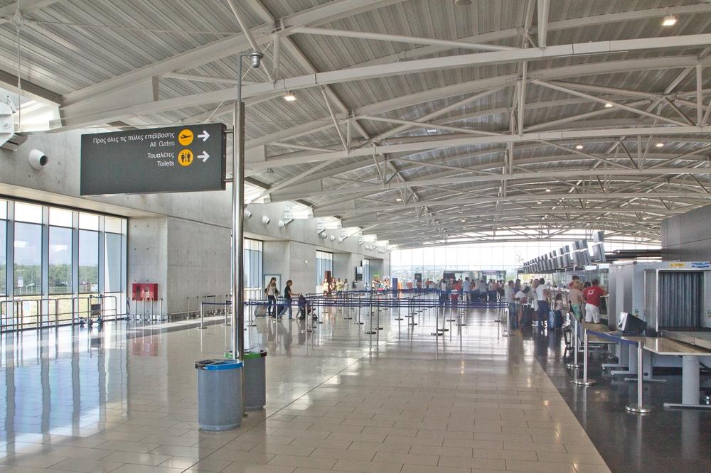 Flughafen Larnaka Zypern Urlaub