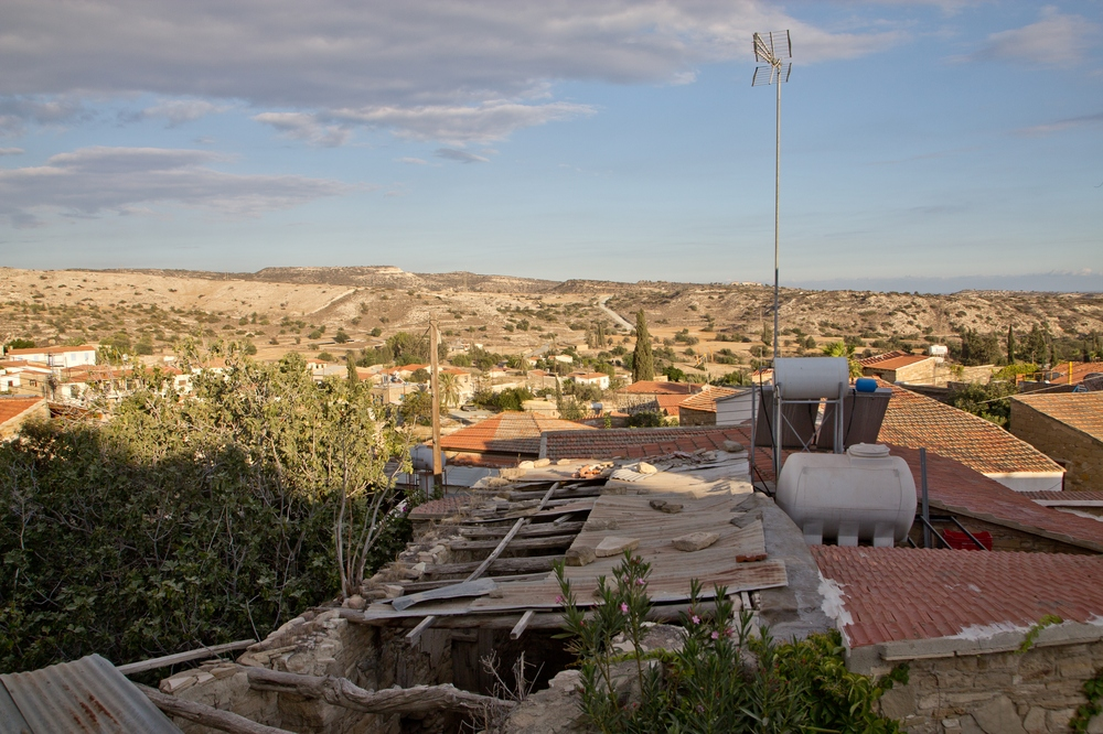 Eveleos Country House Tochni Zypern Ausblick