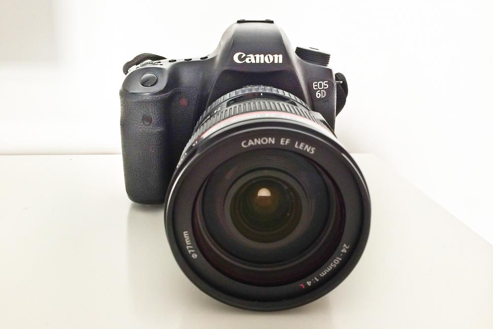 Canon EOS 6D Spiegelreflex Kamera