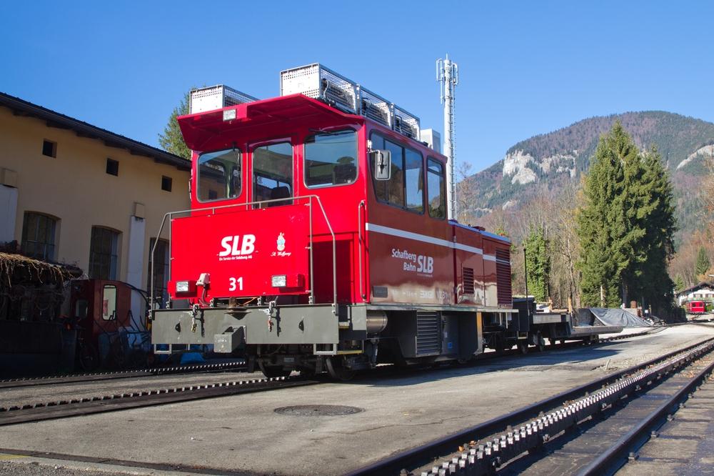 Schafbergbahn Scharfbergspitze Lokomitive VZ 31