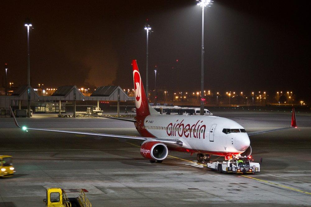 Boeing 737 Airberlin Flughafen München Airport