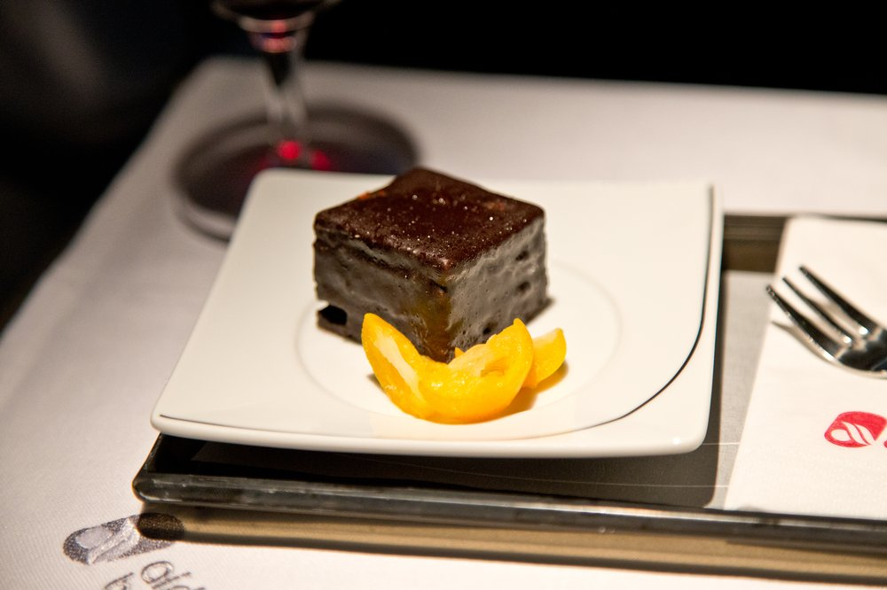 Dessert Essen Airberlin Business Class