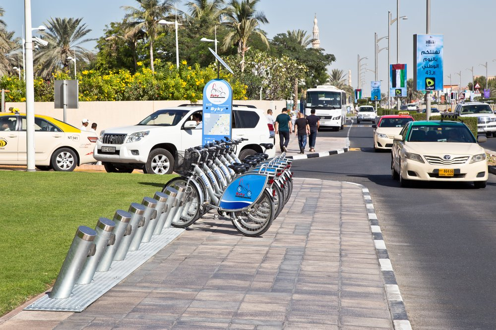 Fahrradverleih Dubai