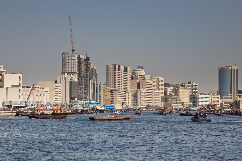 Dubai Meeresarm Creek