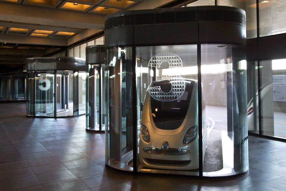 Personal-Rapid-Transit PRT  Masdar City Abu Dhabi