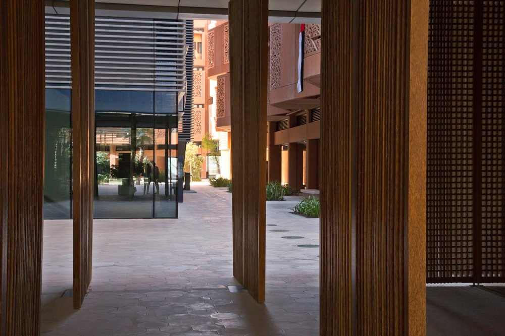 Masdar City Abu Dhabi UAE