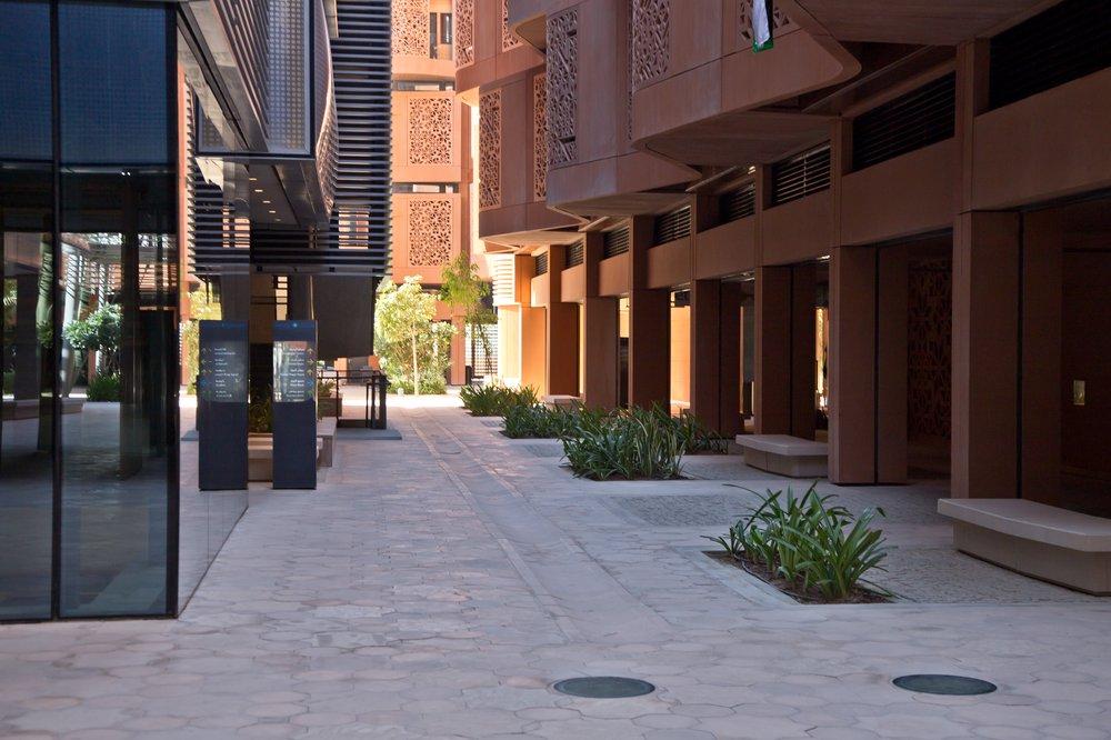VAE Masdar Ökostadt Reise Urlaub Ausflug