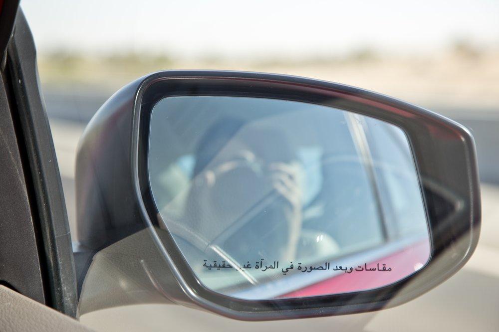 Nissan Tiida Mietwagen Abu Dhabi