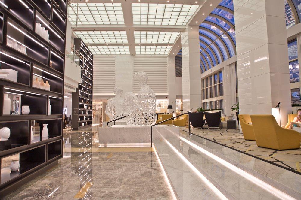 Lobby Le Royal Merdien Abu Dhabi