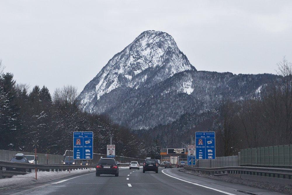 Grenzübergang Kiefersfelden Anfahrt Kronplatz