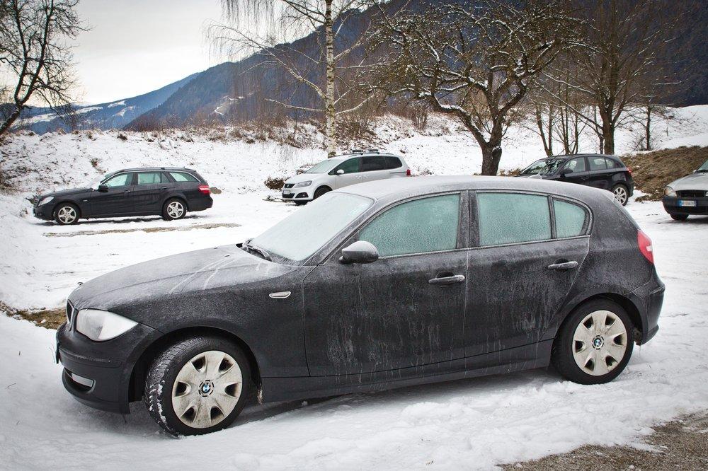 Kronplatz Auto Frost