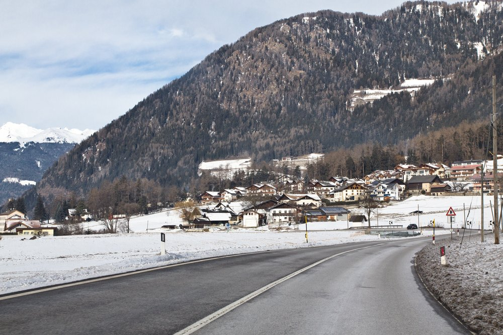 Brennerpass Landstraße Italien