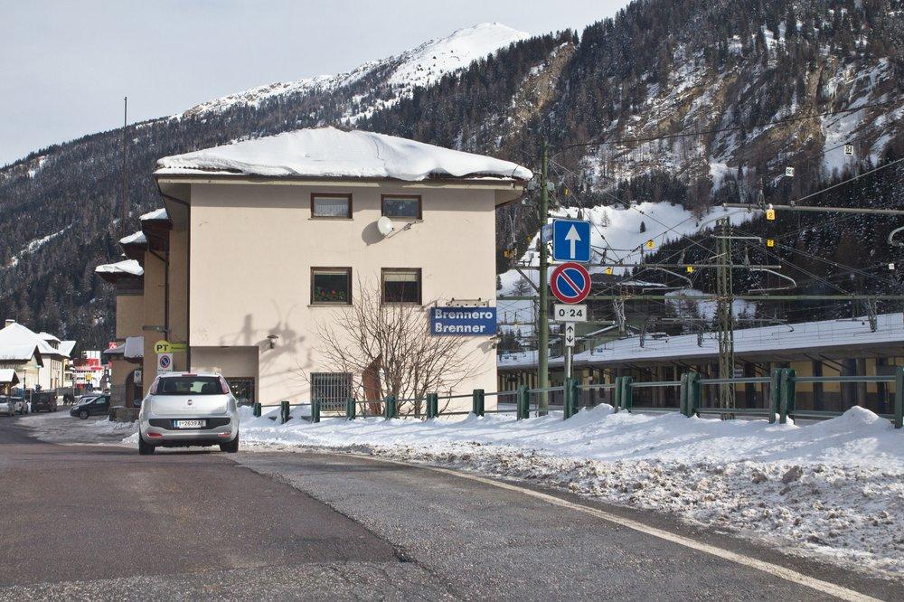 Brennerpass Brennero Ort Italien