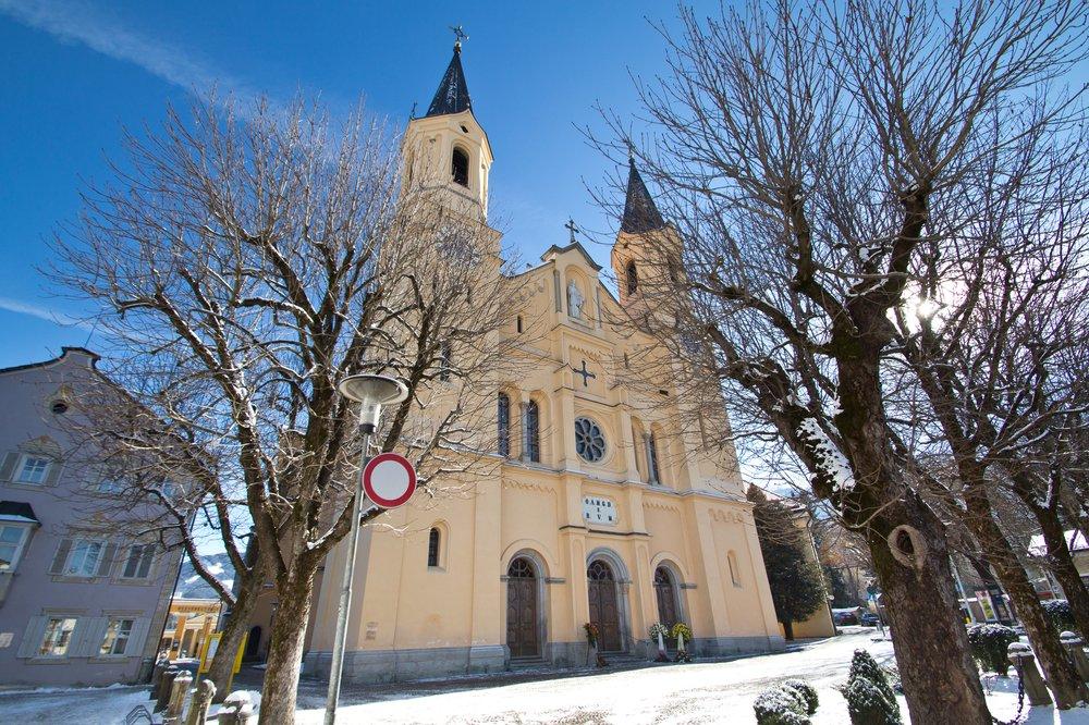 Pfarrkirche Bruneck Brunico Kronplatz