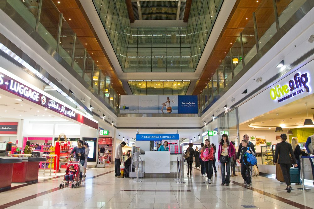 Flughafen Dubai DXB Departure