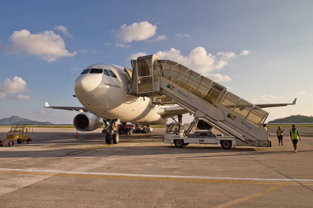 Airbus A330 Emirates Dubai Seychelles