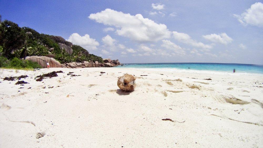 Grand Soeur Seychellen Insel Silhouette Cruises