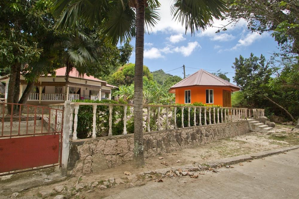 Hinterland La Digue Seychellen