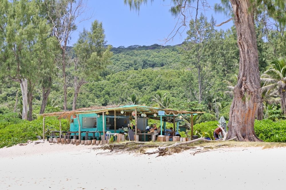 Grand Anse La Digue Seychellen