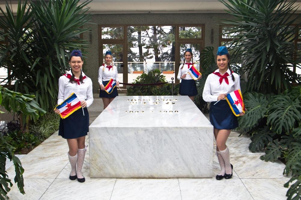 Haus der Blumen Josip Broz Tito Belgrad Serbien