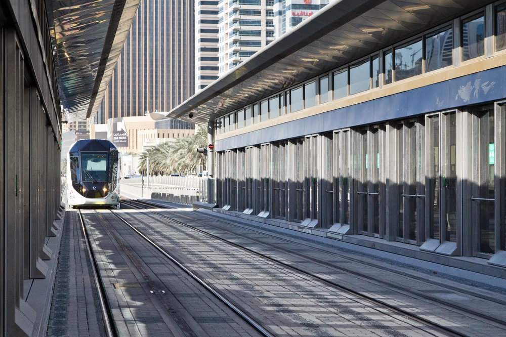 Tram Dubai Marina Downtown