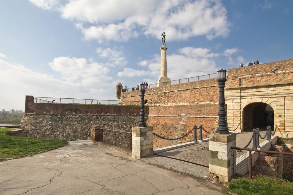 Der Sieger Statue Monument Belgrad Festung