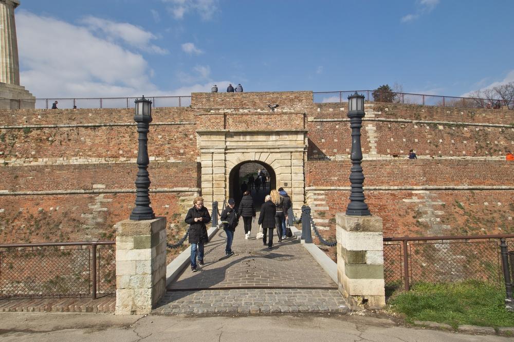 Kalemegdan Festung Burg von Belgrad