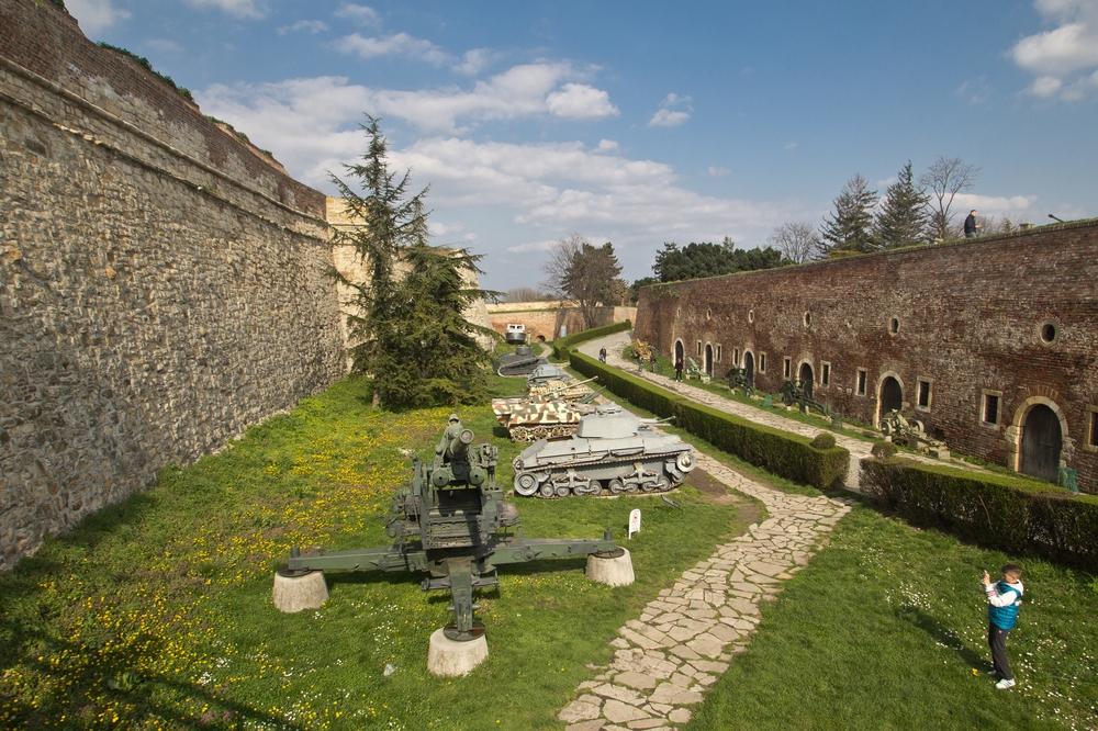 Kalemegdan Festung Burg von Belgrad Militärmuseum
