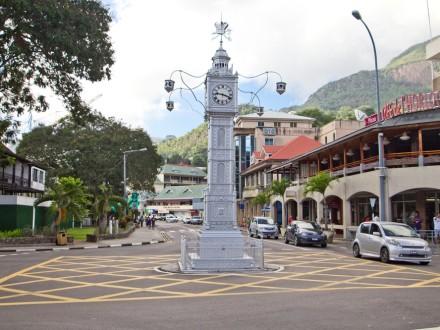 Clock Tower Victoria Hauptstadt Seychellen Kreuzfahrt