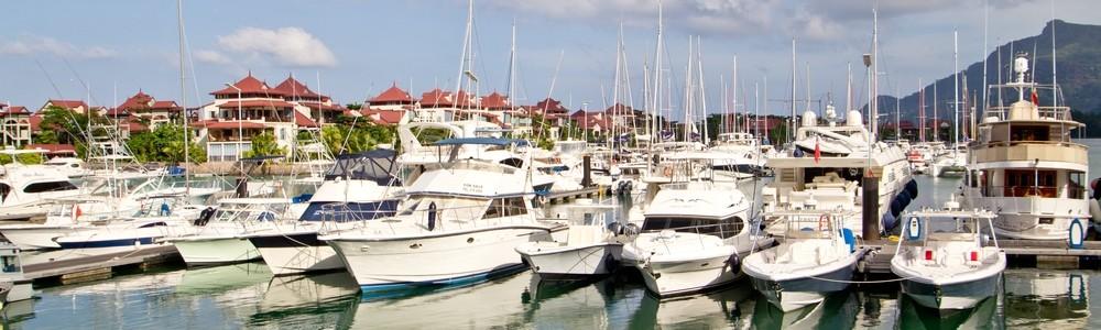 Marina Eden Island Eden Island Victoria Mahe Seychellen Kreuzfahrt