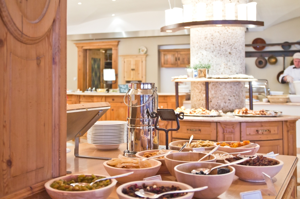 Das Central Hotel Wellness Sölden Frühstück