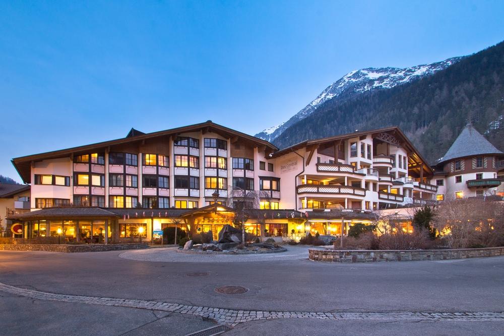 Hotel Das Central Sölden Wellness Außen