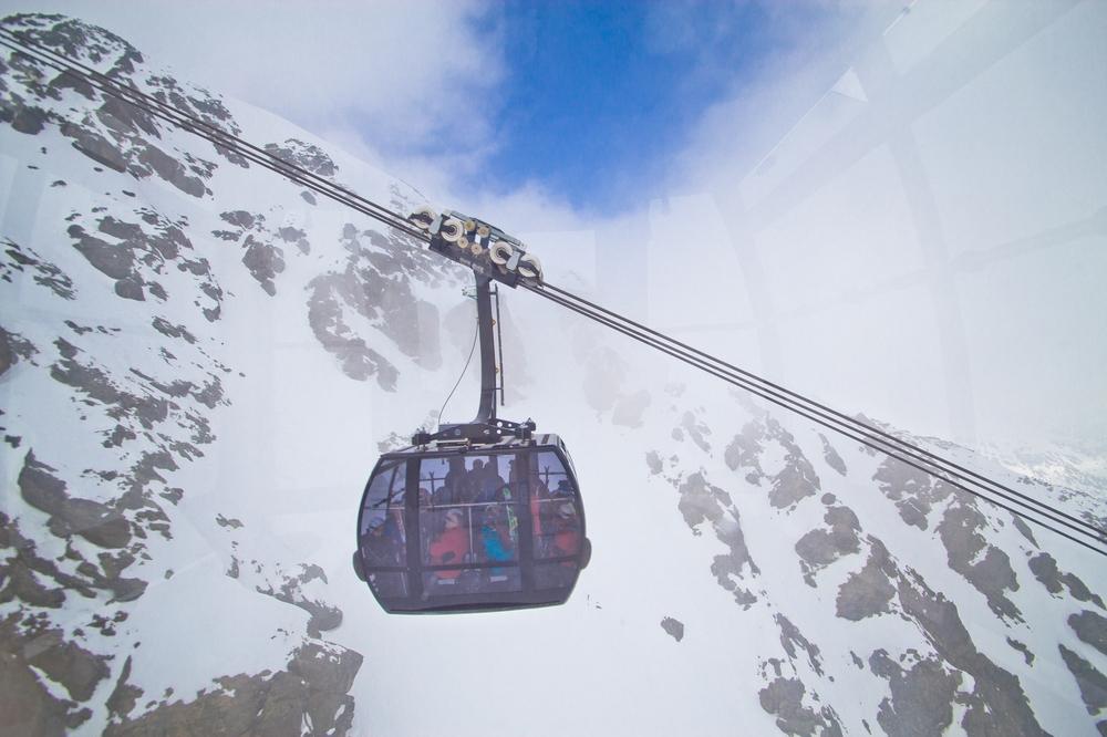 Sölden Gaislachkogel Gipfel Gipfelkreuz
