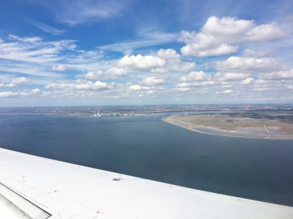 Anflug Kopenhagen Airport SAS