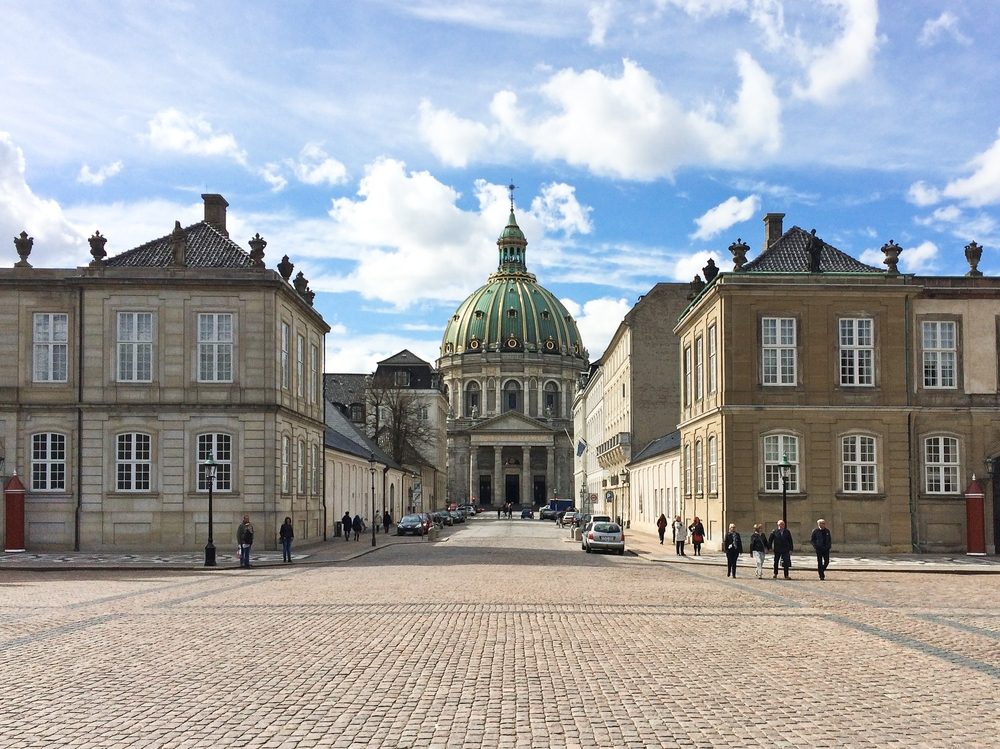 Frederikskirche Frederiksgade Amalienborg