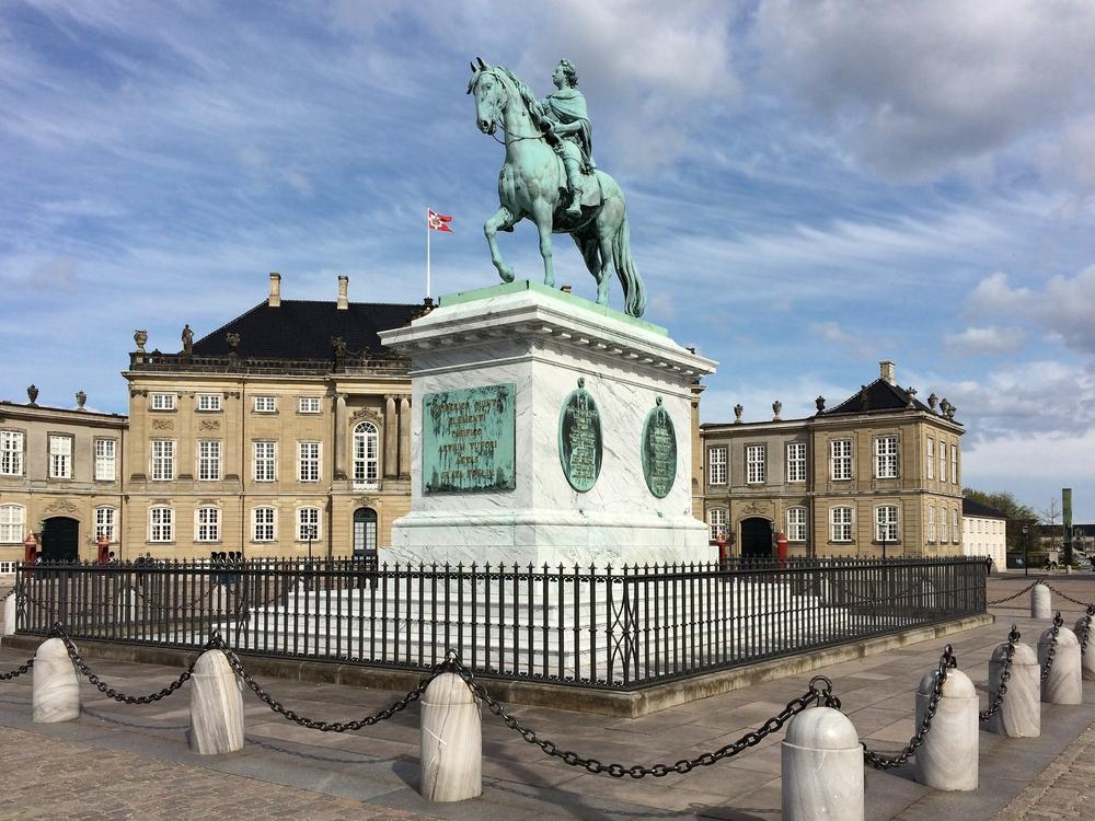 Schloss Amalienborg Kopenhagen Frederik V